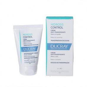Ducray Hidrosis Control Cream - sveddæmpende creme til hænder og fødder 50 ml.