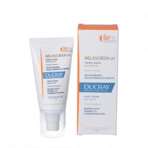 Ducray Melascreen UV Light - plejende creme, der beskytter mod solforårsagede pigmentpletter 40 ml.