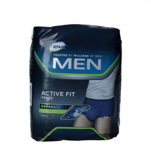 Tena Men Active Fit Pants Large 10 stk.