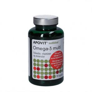 Apovit Omega-3 multi 90 stk