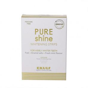 EKULF PURE shine Whitening strips - blegende tandstrimler 28 stk.