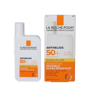 La Roche-Posay Anthelios Shaka Fluide Ultralet solcreme velegnet til alle hudtyper SPF 50+ , 50 ml.