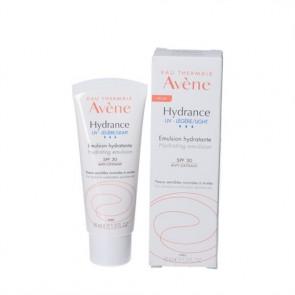 Avène Hydrance let og meget fugtgivende ansigtscreme med solfilter (SPF30) til normal og kombineret hud 40 ml.