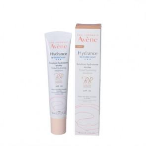 Avéne Hydrance BB-Light fugtgivende, let farvet ansigtscreme med solbeskyttelse (SPF 30) til normal og kombineret, dehydreret hud 40 ml.