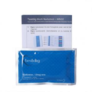 Multi Narkotest MN10 Narkotest tester - urin 1 stk.