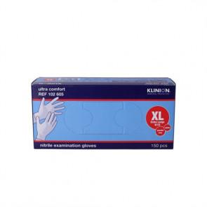 Klinion Protection Handsker Nitril Uden pudder Størrelse X-large 150 stk.