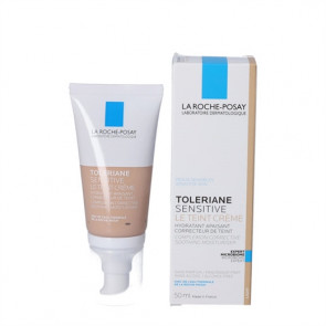 La Roche-Posay Toleriane Sensitive farvet, fugtgivende og beroligende creme 50 ml.