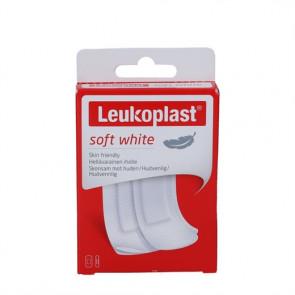 Leukoplast Soft White Plaster - bløde, komfortable og hudvenlig plastre 20 stk.