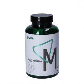 Puori Magnesium M3 - kosttilskud magnesium, æblesyre, zink og vitamin B6 120 stk.