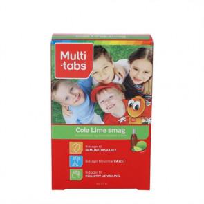 Multi-Tabs Børn Cola/Lime (90 stk)