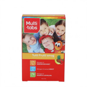 Multi-Tabs Børn Tutti Frutti (90 stk)
