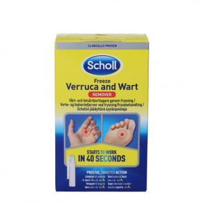 Scholl Freeze vorte- og fodvortefjerner - frysebehandling til hjemmebrug