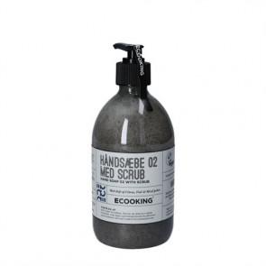 Ecooking Håndsæbe 02 Med Scrub - håndsæbe 500 ml.