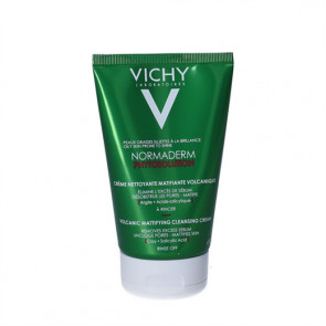 Vichy Normaderm Phytosolution Volcanic Mattifying Cleansing Cream - Rensecreme 125 ml.