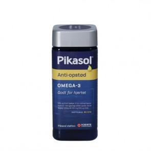 Pikasol Anti-opstød fiskeolie-kapsler kosttilskud med koncentrerede Omega-3 fedtsyre 90 stk.