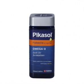 Pikasol Fiskeolie & Ingefær fiskeolie-kapsler 80 stk.