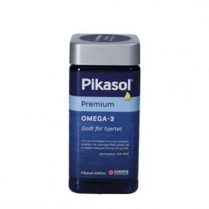 Pikasol Premium fiskeolie-kapsler 120 kapsler