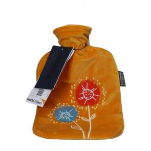 Sipacare Varmedunk med stofbetræk blomst gul
