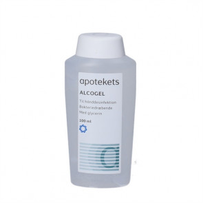 Apotekets Alcogel - Håndsprit 100 ml.