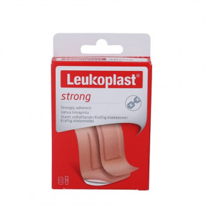 Leukoplast Strong er et plaster med høj hæfteevne 20 stk.