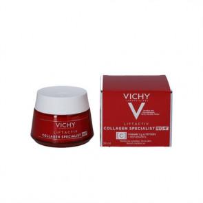 Vichy Liftactiv Collagen Specialist Night - anti-age natcreme 50 ml.
