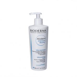 Bioderma Atoderm Intensive Baume - beroligende og blødgørende balm til meget tør, irriteret og atopisk kløende hud 500 ml.