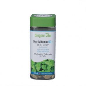 Drogens Vital Multivitamin med Urter 50+ 175 stk.