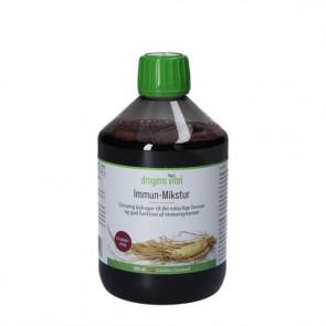 Drogens Vital Immun-Mikstur - kosttilskud der indeholder ekstrakt af ren ginseng rod 500 ml.