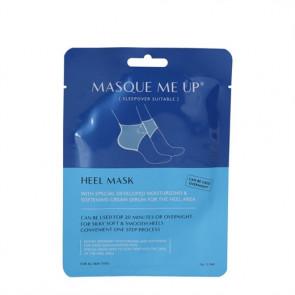Masque Me Up Heel Mask - plejende og blødgørende hælmaske 1 par