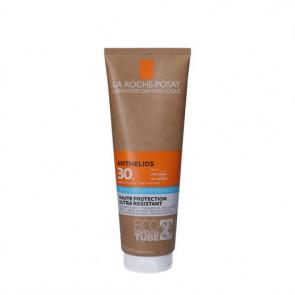 La Roche-Posay Anthelios Hydrating Lotion - ekstra vandresistent sollotion med høj beskyttelse (SPF 30) til ansigt og krop 250 ml.