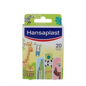 Hansaplast Kids Animal er børneplastre med påtryk af forskellige dyremotiver 20 stk.
