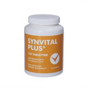 Synvital Plus Kosttilskud med Zink, kobber, Vitamin C,  vitamin E, lutein og zeaxanthin 120 stk