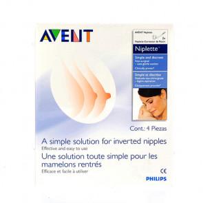 Avent Niplette til afhjælpning af indadvendte brystvorter 2 pak.