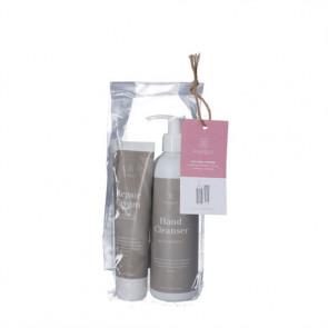 Gavepose med Purely Professional Håndplejeprodukter 300 ml Hand Cleanser 100 ml Repair Cream