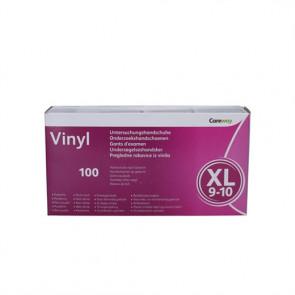 Careway Vinyl handsker X-Large str. 9-10 100 stk.