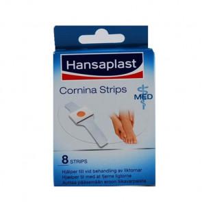 Hansaplast Cornina Strips Ligtorne plaster 8 strips