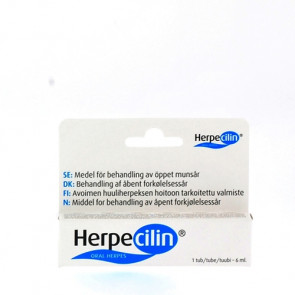 Herpecillin gel 6 ml.
