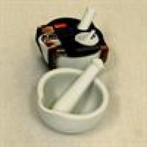 Morter i porcelæn